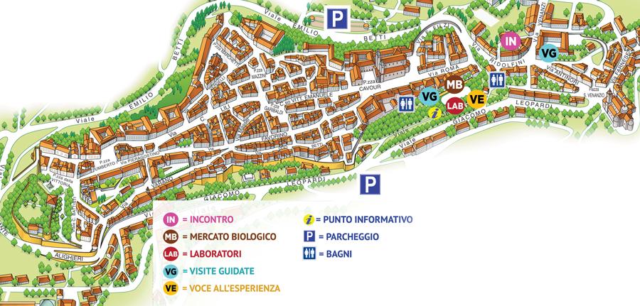 Cartina Jesi.Centro Sperimentale Interculturale Cisei Info